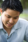 Happy asian man Royalty Free Stock Photography