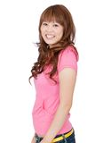 Happy asian woman Royalty Free Stock Photo