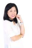 Happy Asian woman Stock Image