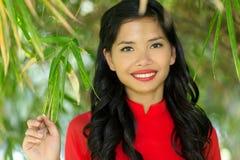 Happy Asian woman Stock Photo