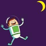 Happy Astronaut Royalty Free Stock Photos