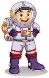 A happy astronaut Royalty Free Stock Photos