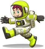 A happy astronaut Royalty Free Stock Photography
