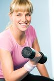 Happy athlete Royalty Free Stock Image