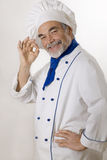 Happy attractive cook Royalty Free Stock Image