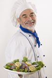 Happy attractive cook Royalty Free Stock Photo