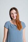 Happy attractive woman Stock Photos