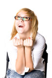 Happy attractive young businesswoman Stock Photo