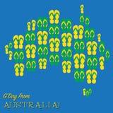 Happy Australia Day! Stock Image
