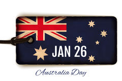 Happy Australia Day  illustration Royalty Free Stock Photo