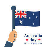 Happy Australia Day 26 January Stock Images