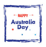 Happy Australia day Stock Photo
