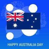 Happy Australia Day 26 January. Vector illustration of a Background for Happy Australia Day 26 January Stock Image