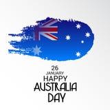 Happy Australia Day 26 January. Vector illustration of a Background for Happy Australia Day 26 January Royalty Free Stock Image