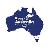 Happy Australia day. Stock Image