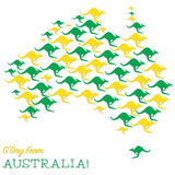 Happy Australia Day! Royalty Free Stock Image