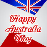 Happy Australia Day Royalty Free Stock Image