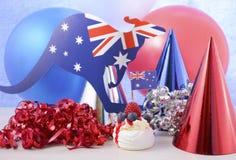 Happy Australia Day Party Royalty Free Stock Photos