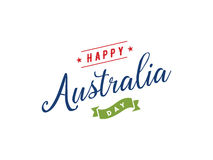 Happy Australia day vector design. Royalty Free Stock Photography