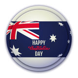 Happy Australia Day vector illustration Stock Photography