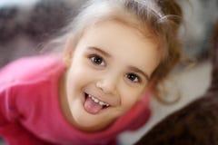 Free Happy Autistic Girl Smiling Stock Image - 90608101