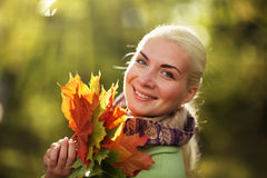 Happy autumn Stock Photo
