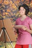 Happy Autumn Artist Stock Photos