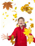 Happy autumn time Royalty Free Stock Image