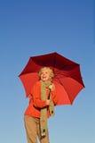 Happy autumn woman Royalty Free Stock Image