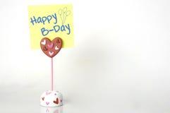 Happy B-Day Stock Photography