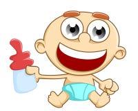Happy babby Royalty Free Stock Image