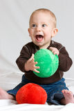 Happy baby Stock Images
