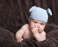 Happy baby Stock Photography