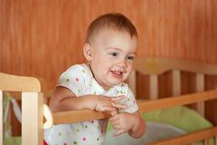 Happy baby Stock Image