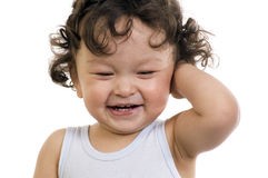 Happy baby. Royalty Free Stock Photo