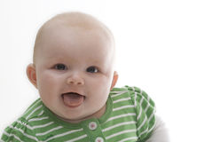Happy baby. This is a happy baby Stock Photo