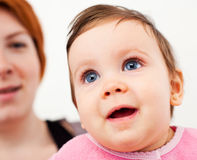 Happy baby Stock Images