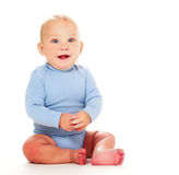 Happy baby boy Royalty Free Stock Images