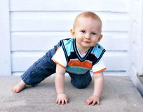 Happy Baby Boy Stock Images