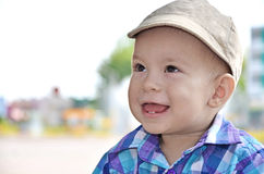 Happy baby boy Stock Photo