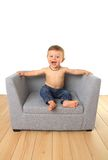 Happy baby boy Stock Photos
