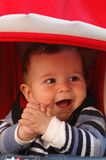 Happy baby boy Royalty Free Stock Photo