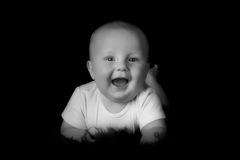 Happy baby boy Stock Photography