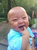 Happy baby boy Stock Photos