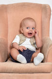 Happy baby boy Stock Photography