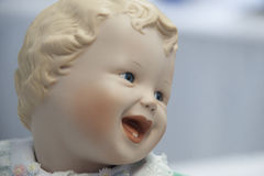 Happy Baby Doll. At The Salvation Army, Tacoma Corps Washington Doll Tea Stock Images