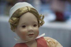 Happy Baby Doll. At The Salvation Army, Tacoma Corps Washington Doll Tea stock photos