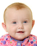 Happy baby face Royalty Free Stock Photo