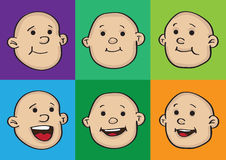 Happy Baby Faces Royalty Free Stock Photo
