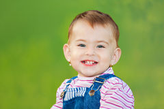 Happy baby girl royalty free stock photos